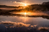 Boiling Pond at Sunrise